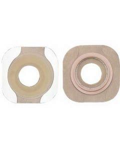 "Hollister New Image 1-1/8"" Pre-Cut Flat Flextend Skin Barrier with 1-3/4"" Flange"