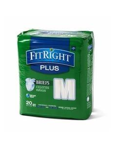Medline FitRight Plus Cloth Like Adult Briefs