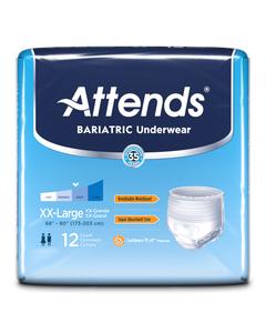 Attends Bariatric Protective Underwear - 2 XL