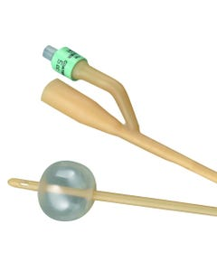 Bardia Silicone-Elastomer Coated 2-Way Foley Catheter, Hydrophobic