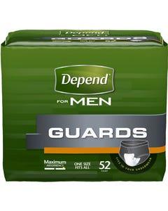 Depend 12 Inch Length Heavy Absorbency Absorb-Loc for Men